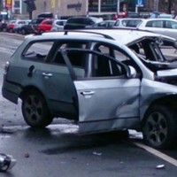 Man dies after car bomb explodes during rush hour in Berlin