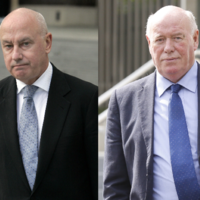 Two former Anglo officials have had their convictions quashed