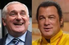 Column: Cardinal Rules - On Bertie Ahern vs Steven Seagal