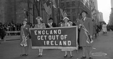 Here's what the St Patrick's Day parade looked like in the US as far back as the 1940s