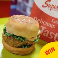 A Kildare baker made this amazing Supermac's chicken burger cake