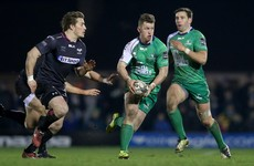 Connacht's in-form Matt Healy called into Ireland training squad