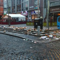 The morning after: This is what Temple Bar looked like first thing today