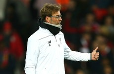 Klopp dreaming of a Europa League final against Dortmund