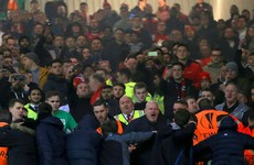 Man United and Liverpool charged by Uefa over crowd trouble