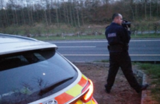 A driver was clocked doing 176km/h on St Patrick's Day