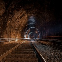 Inside the 139-year-old Phoenix Park tunnel