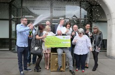 Waterford workers collect €2.5m lotto cheque after 16 years of playing the same numbers