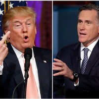 Donald Trump isn't worried that 'mixed up man' Mitt Romney's isn't voting for him