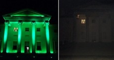 Are you observing Earth Hour? Landmarks like the Áras are