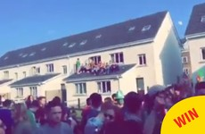 This outdoor Paddy's Day party in Galway was just full of shenanigans