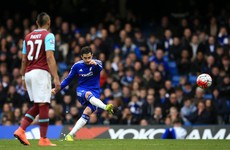 Fabregas' controversial late penalty snatches point for Chelsea against plucky West Ham