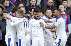 Title dream very much alive as Leicester go 8 points clear with 7 games to go