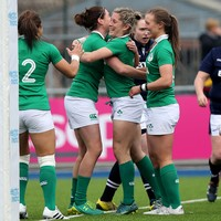 Ireland run in eight tries to end Six Nations with thumping win over Scotland
