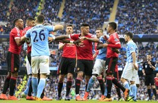 As it happened: Manchester City v Manchester United, Premier League