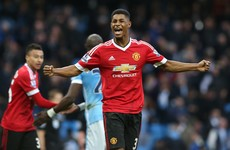 Marcus Rashford the hero for Man Utd in their derby win over City