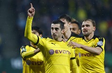 Dortmund keep in touch with Bayern after digging deep in come-from-behind win