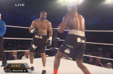 Roy Jones Jr fought a fan last night... it pretty much went as you'd have expected