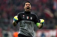 At 38 years old, Gianluigi Buffon is still being pretty sensational