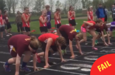 This runner's majestic face-plant completely sums up your life
