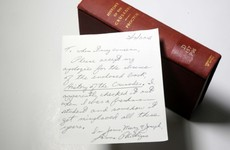 An overdue library book has been returned after 50 years