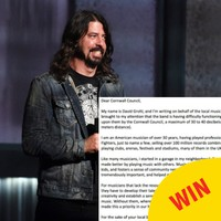 Dave Grohl steps in to help teen band who have nowhere to practice