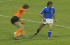 The Cruyff Turn: If ever there was a day to watch this moment of genius, it's today