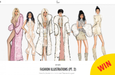 This Galway artist's sketches are all over Kim Kardashian's app today