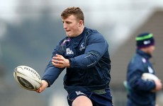 Henshaw on the bench as Connacht hand first Pro12 start to academy centre against Leinster