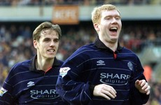 Want to feel old? It's 16 years since Becks teed up Scholesy for THAT volley