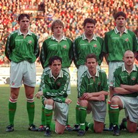 18 years ago today, 2 of Ireland's greatest ever players made their international debuts