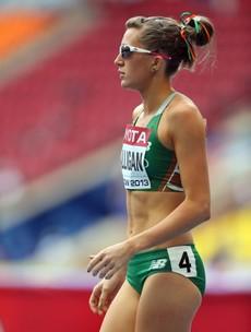 Leading Irish Olympic hopeful aims to emulate Sonia O'Sullivan in more ways than one