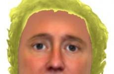 UK police release lettuce-head image of suspect