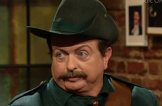 Nobody could cope with Marty Morrissey's 1916 look on The Late Late Show last night