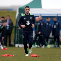 'If I score in the Euros I'll definitely do the cartwheel, I just hope I don't get stuck' - Robbie Keane