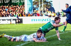 Huge Nacewa hit on MacGinty couldn't stop Connacht scoring the opening try