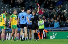 Murphy and McCarthy sent off in fiery clash between Dublin and Donegal