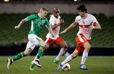 Ireland set to turn to McClean with just one fit striker for Slovakia