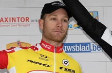 Belgian cyclist dies tragically after collision with motorbike during race