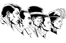 A Cork artist is drawing the leaders of the 1916 Rising, comic book-style