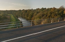 Man dies after car plunges off motorway into river