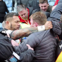 Unsavoury scenes as Salford players involved in altercations with their own fans