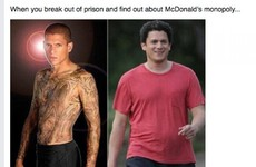 Actor Wentworth Miller has written an inspiring response to a fat-shaming meme about him