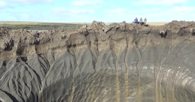 Giant holes that mysteriously appeared in Siberia could be sign of climate 'time bomb'