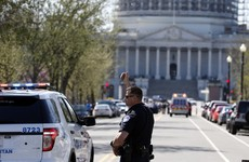 The US Capitol has gone on lockdown for the second day in a row