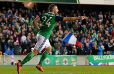 Northern Ireland's goal-hero last night was a postman just four years ago