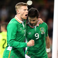 Long and McClean strike from the spot as Ireland put in positive performance against Slovakia