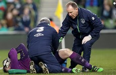 Injury woes for O'Neill as Rob Elliot suffers potential Euro 2016 blow