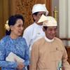 People power begins in Myanmar as military rule ends