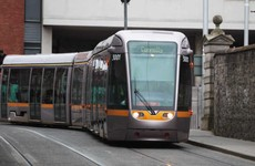 Cyclist hit by Luas tram on Red Line this morning